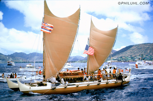 Hokule`a by phil uhl