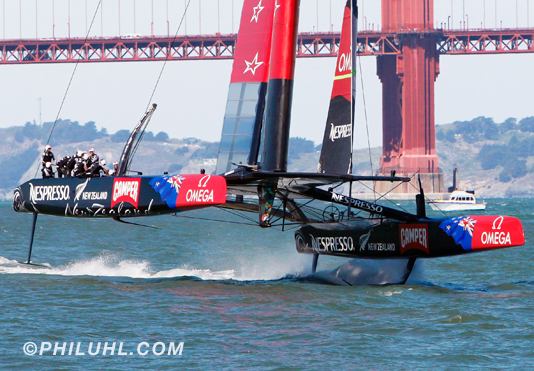 New Zealand America's Cup Uhl