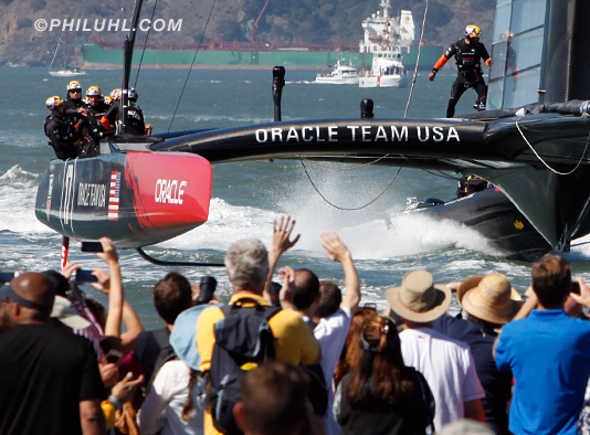 America's Cup Oracle Uhl